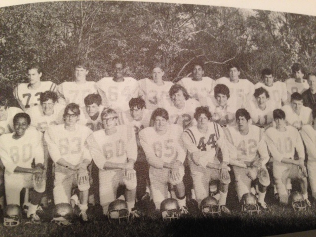 DCDS JV Football, 1970