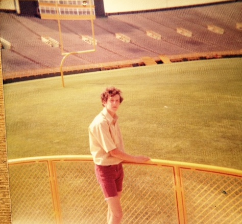 Visiting Lambeau in 1970